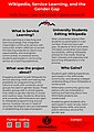 Wikimania 2018 Poster - Wikipedia, Service Learning, and the Gender Gap.jpg
