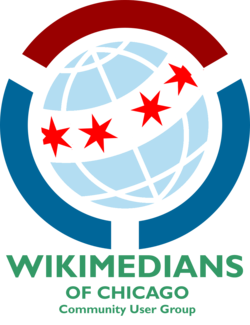 Wikimedians of Chicago User Group Logo.png