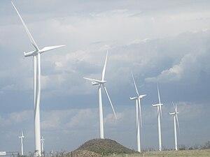 Siemens Wind Power - Siemens 2.3 MW Wind Power turbines at Wildorado Wind Ranch (2010)