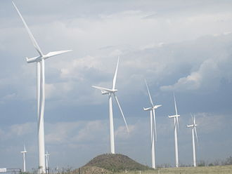 Siemens Wind Power - Siemens 2.3 MW Wind Power turbines at Wildorado Wind Ranch (2010)