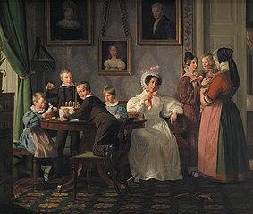 Familien Waagepetersen