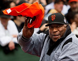 Willie McCovey - McCovey at the 2012 Giants World Series parade
