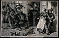 Women eject a drunk and publican from a bar in a crusade aga Wellcome V0019435.jpg