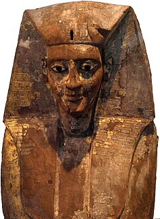 Egyptian king of the Seventeenth dynasty of Egypt at Thebes during the Second Intermediate Period