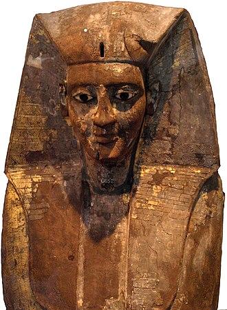 Nubkheperre Intef - Nebkheperre Intef's wooden Rishi coffin