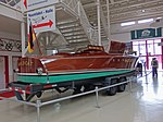 Wooden boat with Rolls Royce Merlin engine (23746721548).jpg