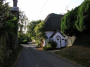 Woodyates - Image: Woodyates village geograph.org.uk 690881