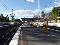 Wooloowin Railway Station, Queensland, July 2012.JPG