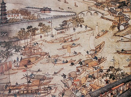 Commerce on the water, Prosperous Suzhou by Xu Yang, 1759 Xu Yang - Commerce on the water.jpg