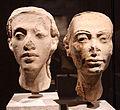 Xviii dinastia, ritratto della coppia reale nefertiti e achenaton, 1340 ac ca. 01.JPG