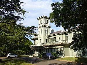 Concord, New South Wales - Yaralla Mansion in Concord, originally home of Dame Eadith Walker, is now a convalescent hospital