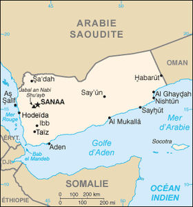 Géographie du Yémen — Wikipédia
