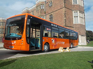 Yorkshire Tiger - Plaxton Centro bodied VDL SB200 in September 2013