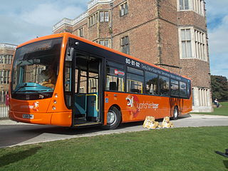 Yorkshire Tiger Bus operator in West Yorkshire