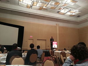 Cornell Cup USA - Young Guru speaking at the 2014 event.