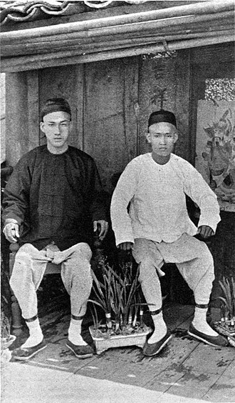 Chinese people in Myanmar - Chinese in Bhamo, 1900.