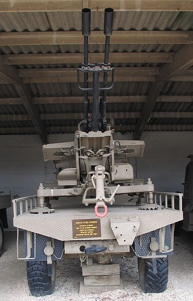 الحرس الجمهوري اليمني 384px-ZU-23-2-Unimog-batey-haosef-1