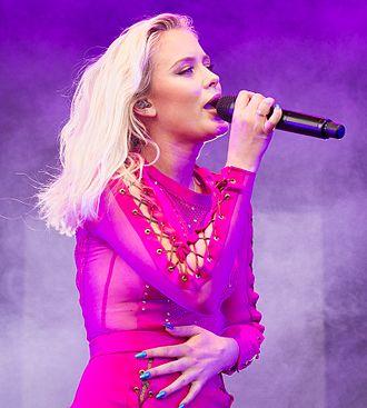 Zara Larsson - Larsson at Stavernfestivalen in Stavern, July 2016