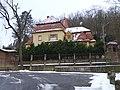 Zbraslav, Bartoňova 630, Storchova vila, ze zámeckého parku (01).jpg