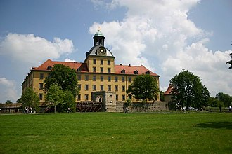 Schloss Moritzburg (Zeitz) - View from the park