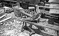 Zgornji Brezen, izdelovanje cokel 1963 (3).jpg