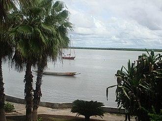 Ziguinchor - View on Casamance River