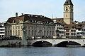 Zunfthaus zur Meisen - Waldmanndenkmal - Münsterbrücke - St. Peter - Limmatquai 2012-09-26 15-13-34.jpg
