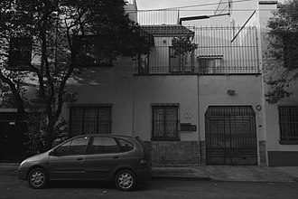 Roma (2018 film) - 21 Tepeji Street, Colonia Roma - the original house of Cuarón's family, located opposite the filming location house.