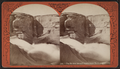 """The broken basin - "" water-worn rock at Glen's Falls, by Stoddard, Seneca Ray, 1844-1917 , 1844-1917.png"