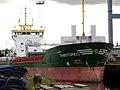 'Transitorius' unloading in Belfast - geograph.org.uk - 593780.jpg