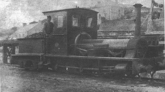 Pentewan Railway - Image: 'Trewithan' of the Pentewan Railway