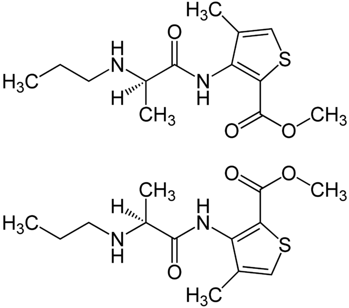 File:(±)-Articaine Structural Formulae.png