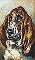 (Albi) Tête de chien courant - Toulouse-Lautrec 1880 - Musée Toulouse-Lautrec MTL29.jpg