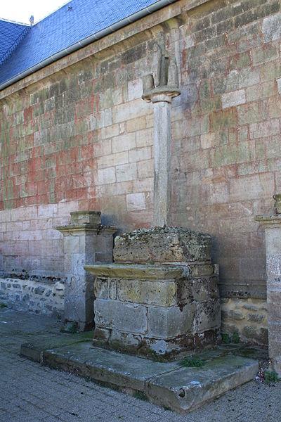 Église Sainte-Barbe (Moustoir-Ac): calvaire nord