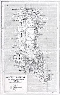 Grande Comore Autonomous island in Comoros