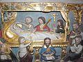 Épiniac (35) Église Bas-relief de la mort de la Vierge Détail 1.jpg