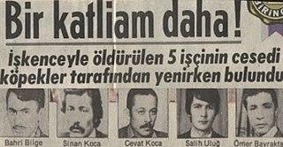 Ümraniye massacre Massacre in Turkey