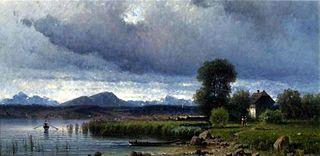 Jezioro Arezzo we Włoszech