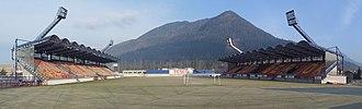 Štadión pod Čebraťom - Image: Štadión MFK Ružomberok