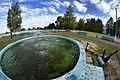 Городской фонтан в городе Кирс и прилегающая зона отдыха.jpg