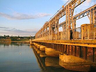Dubăsari - Dubăsari hydroelectric dam