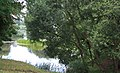 Екабпилс (Латвия) Крустпилский замок - прудик во дворе (фрагмент) - panoramio.jpg
