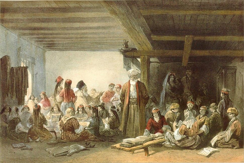 Карло Боссоли. Татарская школа для детей (cropped)
