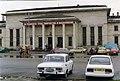 Москвич и Шкода , Шумен , България OKT 1993 Moskvich and Škoda cars in Shumen. (3721714296).jpg