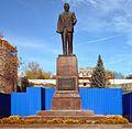 Памятник М. И. Калинину. Открыт в 1955 году. Бронза, гранит. Скульптор С. Н. Попов, архитектор Л. Н. Кулага - panoramio.jpg