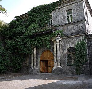 Alushta - Image: Старинное здание винподвала