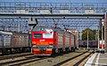 ЭР2К-1058, Россия, Новосибирская область, станция Новосибирск-Главный (Trainpix 176064).jpg
