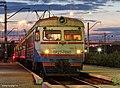 ЭР2Т-7090, Украина, Донецкая область, станция Ясиноватая (Trainpix 77860).jpg
