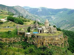 Ruben Vardanyan (businessman) - Tatev Monastery in Armenia