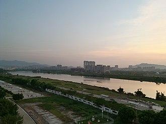 Conghua District - Liuxi Riverfront Park in Jiekou Subdistrict